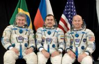 International Space Station Expedition 13 Official Crew Photograph #2